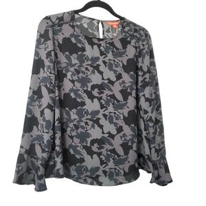 JOE FRESH | Mixed media blouse